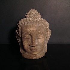 A head of Buddha